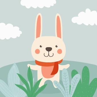 かわいいウサギ漫画イラスト