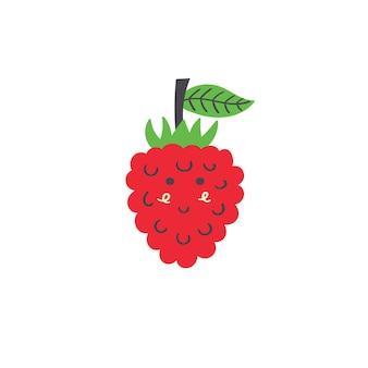Милая ягода малины