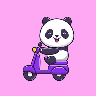 Cute riding scooter