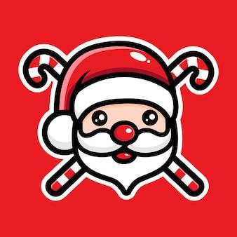 귀여운 산타 클로스 캐릭터 디자인