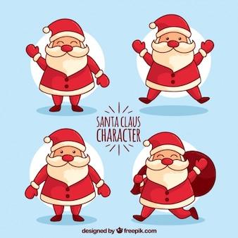 santa claus face cartoon vector | free download