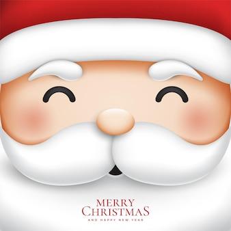 Cute santa claus for merry christmas illustration