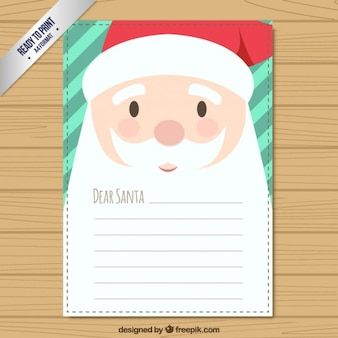 Cute santa claus wish list