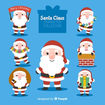 Cute santa collection