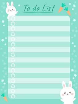 Cute schedule note