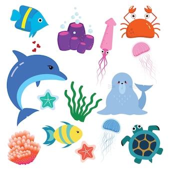 Симпатичное морское животное