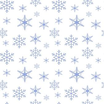 눈송이의 귀여운 완벽 한 패턴입니다.