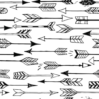 Cute seamless pattern with arrows and hearts. can be used for desktop wallpaper or frame for a wall hanging or poster,for pattern fills, wedding decor, web page backgrounds, textile and more