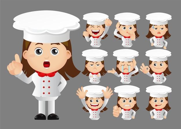 Милый набор набор шеф-повара