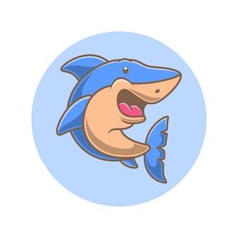 かわいいサメの漫画