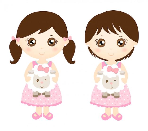 Милые овцы