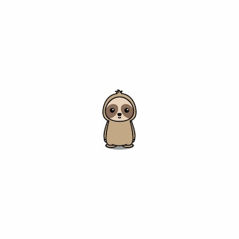 Cute sloth cartoon