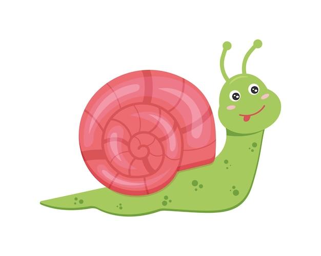귀여운 달팽이 캐릭터