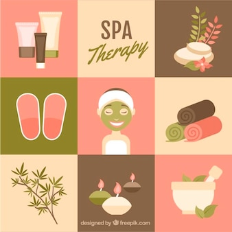 Cute spa elements