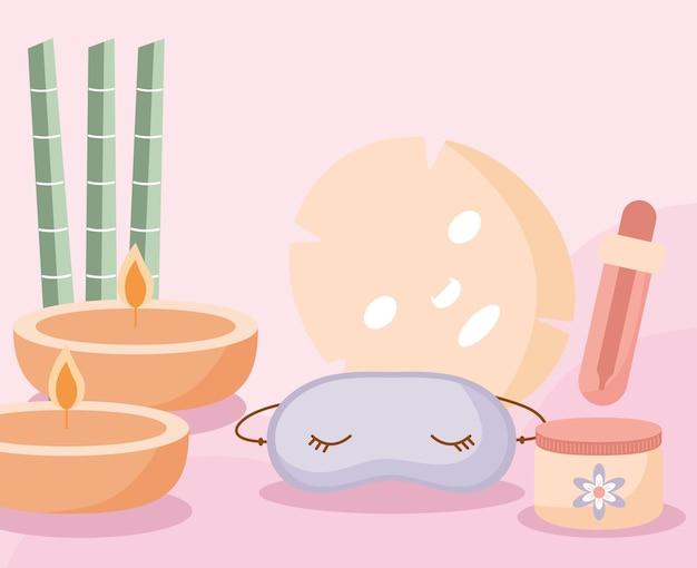 Cute spa poster