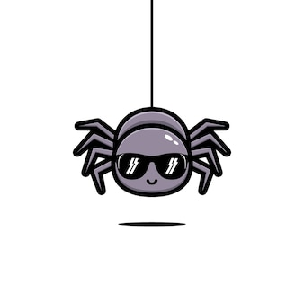 귀여운 거미 멋진 할로윈