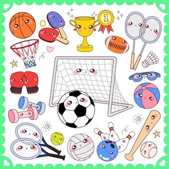 Cute sports equipment