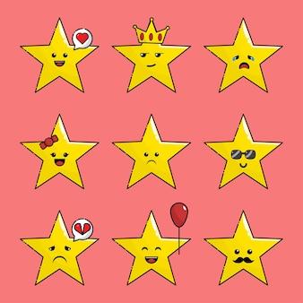 Cute star kawaii