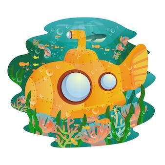 かわいい潜水艦