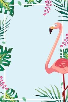 Cute summer banner illustration