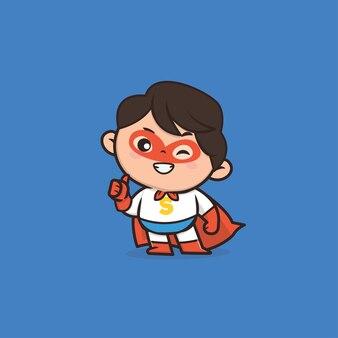Милый талисман супергероя