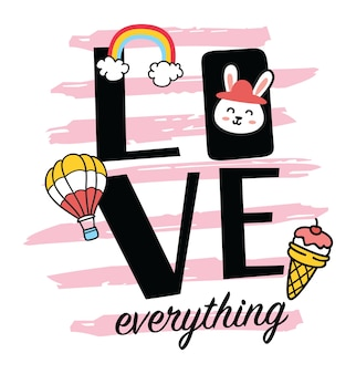 Cute t shirt design with patches