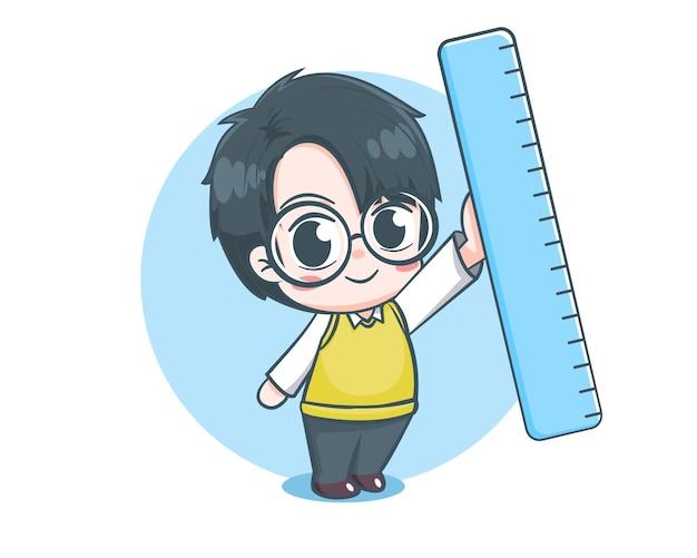 かわいい先生の漫画のキャラクター