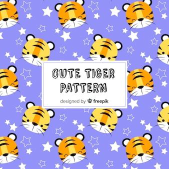 Cute tiger pattern