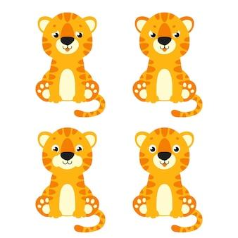 Милый тигр дикое животное