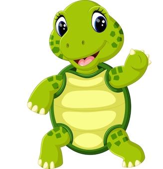 Симпатичная черепаха