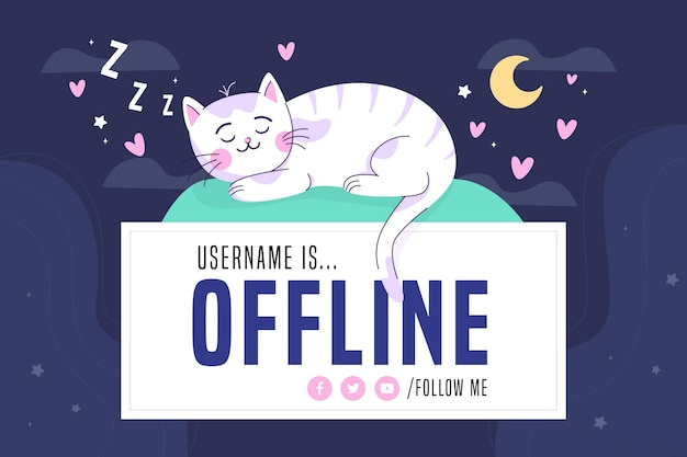Cute twitch banner