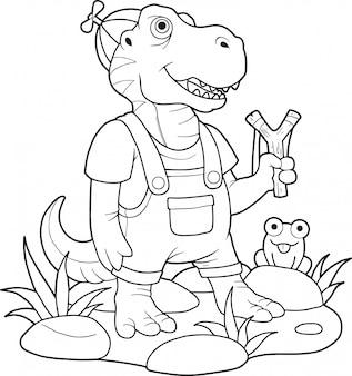 かわいいティラノサウルス