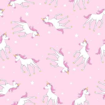 Cute unicorn  pattern