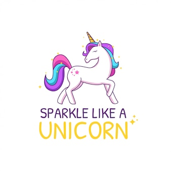 Cute unicorn quotes inspirational for kids