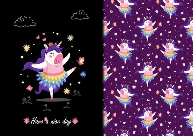 Cute unicron the ballerina queen pattern