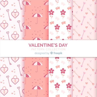 Cute valentine patterns