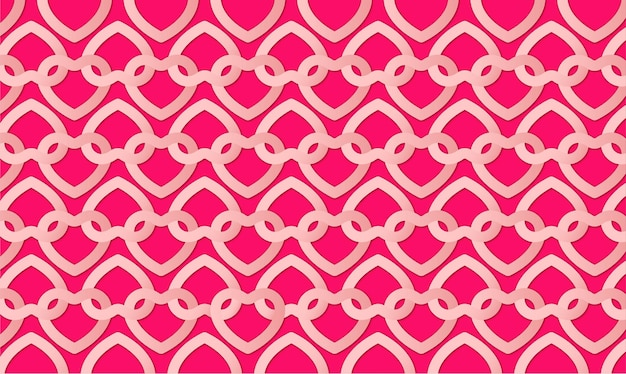 Cute valentine's day background with hearts pattern