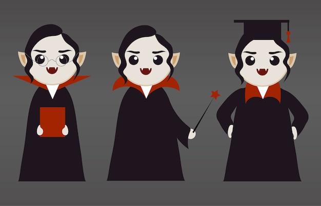 かわいい吸血鬼の女の子たち