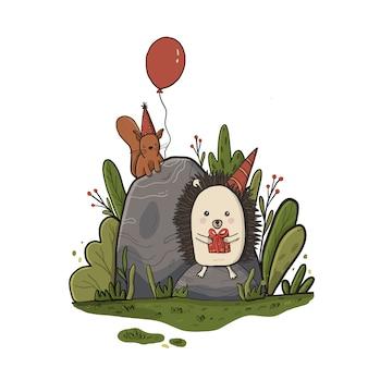 Cute vector illustration