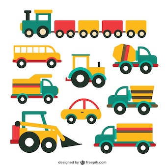 Cute vehicle collection