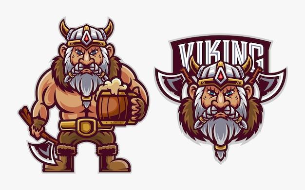 Cute viking illustratio