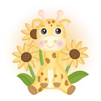 A cute watercolor koala illustration .