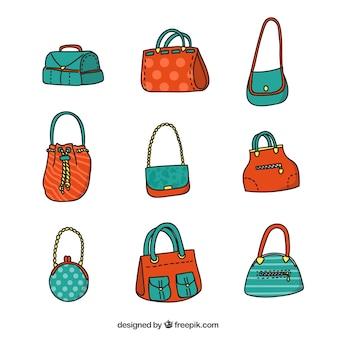 かわいい女性のバッグ