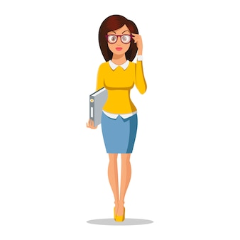 Cute young women in beautiful style. character . business girl. office lady. attractive young women. casual style. fashion woman face. sexy woman.  illustration on the white background.