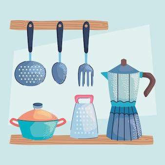 カトラリーと調理器具