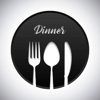 Cutlery symbol