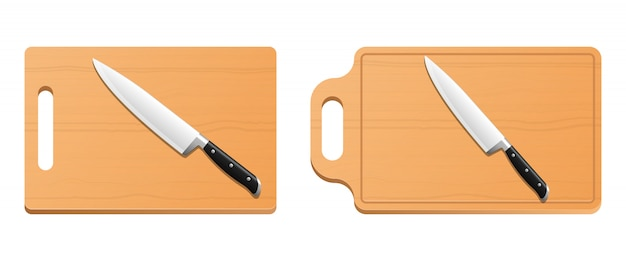 Cutting board   design illustration isolated