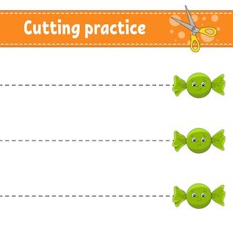 Практика кройки для детей