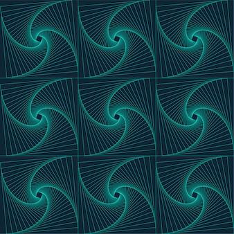 Cyan seamless pattern