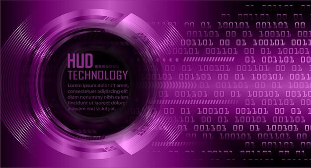 サイバー回路の将来の技術概念の背景デジタルデータベクトルの南京錠を閉じた